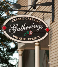 Gatherings Pacific Grove venue front sign